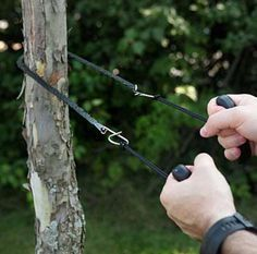 Portable Pocket Chain Saw The next time you're camping ... whether it be local or backcountry, make sure you bring this amazing hand chain saw along with you. This saw also makes a great addition to a