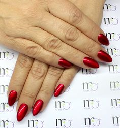 Stand out in the crowd with our MO Nails Metallica Chrome Coat # MC06 Red Metal!