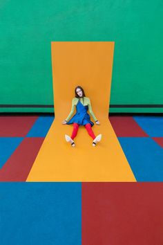 Swedish photographer Gabriel Isak is a master of colour. In his latest series, the Dazed Delusion editorial, he showcases his composition and angle-finding skil Line Photography, Kids Fashion Photography, Children Photography, Editorial Photography, Photography Ideas, Product Photography, Portrait Photography, Gabriel, Colour Blocking Fashion