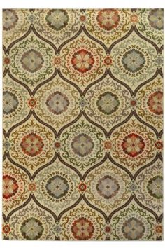 Rossini Area Rug - Machine-made Rugs - Synthetic Rugs - Traditional Rugs | HomeDecorators.com