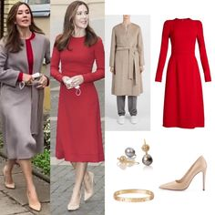 Crown Princess Mary, Royal Fashion, Denmark, New Look, Dresses For Work, Lithuania, Jackets, Police, Instagram