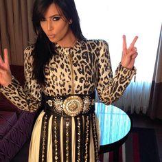 Kim Kardashian in Fausto Puglisi!!! Shop Fausto Puglisi at: http://www.lindelepalais.com/en-US/women/designer/fausto_puglisi