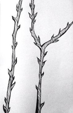 thorny.