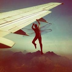 Take these broken wings and learn to fly (Publicado com Instagram, no Aeroporto Internacional de Brasília (BSB))
