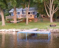 VRBO.com #186686ha - Quietwater Cottage-Ski/Hot Tub & Sauna/Water/Birding/Hiking/Relaxing/Peaceful!