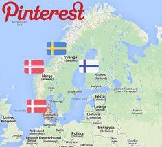 Pinterest llega a los paises Nordicos - Pinterest Español