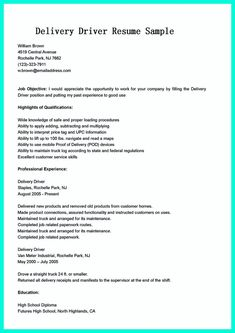 School Bus Driver Resume Nice Write Properly Your Accomplishments In College Application