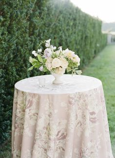 Lilac Wedding, French Wedding, Floral Wedding, Wedding Flowers, Dream Wedding, Wedding Tablecloths, Wedding Table Linens, Wedding Reception Centerpieces, Greenery Centerpiece