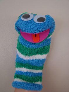 A Arte de Ensinar e Aprender: Fantoches de meias