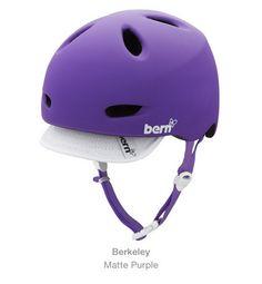 Bern bike helmet, Berkeley purple $80  #musthave