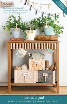 Functional and fashionable? Absolutely! Try your hand at these cute-as-can-be designer projects!