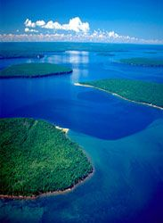 beautiful Apostle Islands, Lake Superior