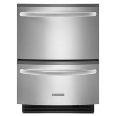 Double Drawer Dishwasher 5 Cycles/3 Cycle Options Architect® Series II (KUDH03DTSS ) |