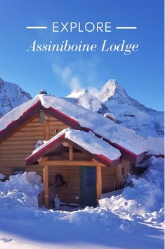 Assiniboine Lodge is Canada's first backcountry lodge. Situated a ski-in or helicopter ride from Canmore, Alberta, it's actually located in British Columbia. Travel Guides, Travel Tips, Travel Destinations, Travel With Kids, Family Travel, Family Ski, Alberta Canada, Canada Vancouver, Visit Canada