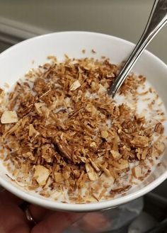 Keto Cronch Cereal (you know, for those who don't want eggs every morning... or night) - KetoDietForHealth
