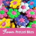Christmas Wreath Pretzel Bites - sweet, salty and delicious. An easy to make Christmas Treat that your whole family will love.