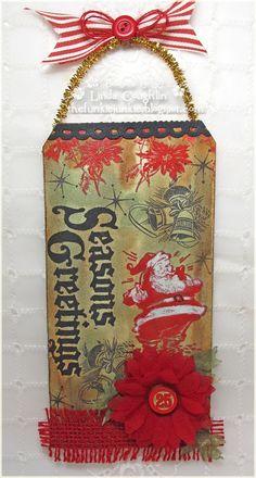 The Funkie Junkie: Challenge: 12 Tags of Christmas - Funkie Junkie Style - Week #8
