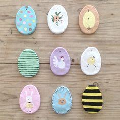 Easter DIY: Salt Dough Egg Ornaments