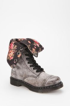 I've always wanted a pair of Dr. Martens! These are divine... Dr. Martens Triumph 1914 Floral Boot  #UrbanOutfitters