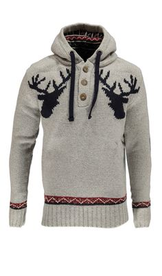 Reindeer hoodie - for my husband to be - maybe just maybe I could convince him to wear this!