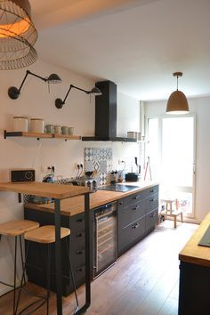 Cheap Home Decor .Cheap Home Decor Apartment Kitchen, Home Decor Kitchen, Kitchen Interior, New Kitchen, Home Kitchens, Kitchen Dining, Kitchen Ideas, Kitchen Planning, Kitchen Cabinets