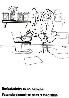 Blog da Tia Jaque: Galinha Pintadinha para Colorir Peppa Pig, First Birthdays, Coloring Books, Crafts For Kids, Mandala, Alice, Diagram, Comics, Learning