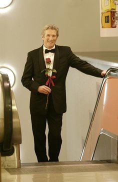 10 year anniversary.  The end is the best.  John riding the elevator up to the love of his life......and then they dance.
