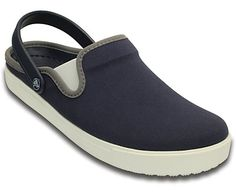 The CitiLane Clog is inspired by vintage sneakers — you'll see that influence in the shape of the toe, the stitching around the collar, the cupsole outsole design and even in the back with the Crocs logo tab. It has a sleeker, more streamlined shape that's more like a sneaker than a clog. This edition has smart canvas uppers as well as stretch gore panels and a heel strap for a more secure fit. Inside, you get Dual Crocs comfort™ with a Croslite™ foam footbed and outsole. Think of the…
