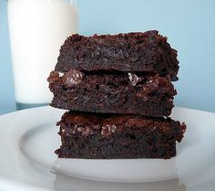 The famed Baked Brownie. Oprah says its one of her favorite things. Americas Test Kitchen says its their favorite brownie. They are now one of my favorite things. If you like honest-to-goodness, rich and dense brownies, you will have found your Eden when you bite into these.