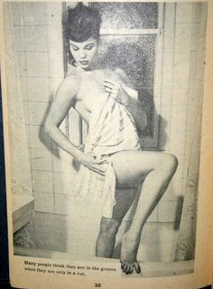 Comedy Magazine 1952 Kevin Daley shower