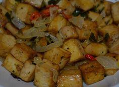 Cantinho Vegetariano: Tofu Grelhado com Alho-Poró (vegana)