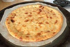 Fathead Pizza Crust - Keto | Rhonda Lucich | Copy Me That Low Carb Pizza, Low Carb Bread, Keto Bread, Low Carb Keto, Low Carb Menus, Low Carb Recipes, Cooking Recipes, Healthy Recipes, Pizza Recipes