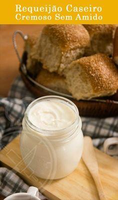 Como Fazer Requeijão Cremoso Caseiro, no liquidificador, sem maizena, amido ou farinha. Com queijo parmesão fresco tudo natural.