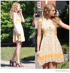 Y yo que no sabía que zapatos usar con un vestido amarillo