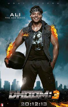 Watch Ali as the Ace Biker in Dhoom:3!