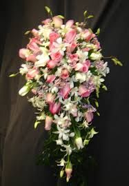 Image result for teardrop flower arrangement