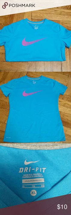 Dri-Fit Nike Shirt Dri- Fit Nike Shirt. Size Kids  XL. Great condition. No imperfections. Nike Shirts & Tops Tees - Short Sleeve