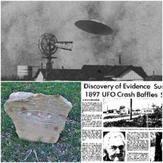 50 years before the Roswell incident, this tiny town witnessed a UFO crash.. and buried the non-human pilot in an unmarked grave.. See it for yourself!