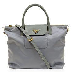 Prada Sky Blue Nylon Bag http://www.consignofthetimes.com/product_details.asp?galleryid=7030