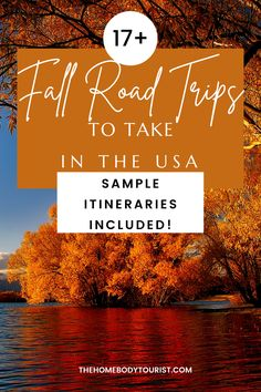The ULTIMATE list of Fall Road Trips to take in the USA. 17+ sample itineraries to make your fall foliage road trip planning easy! Road Trip Usa, Weekend Getaways, Time Travel, Trip Planning, North America, Trips, Things To Do, Around The Worlds, Vacation