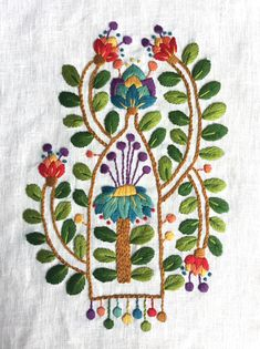 With nine different colours this design is so fun to stitch! I you ordered this kit from me recently you can check out some more close up photos here to help you along with your own stitching. Embroidery Designs, Garden Embroidery, Embroidery Shop, Creative Embroidery, Embroidery Fabric, Beaded Embroidery, Floral Embroidery, Linen Stitch, Satin Stitch