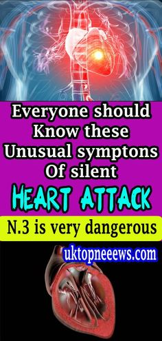 Everyone Should Know These Unusual Symptoms Of A Silent Heart Attack – Healthy Lifestyles Healthy Lifestyle Motivation, Healthy Lifestyle Tips, Healthy Facts, Healthy Moms, Healthy Heart, Grant Writing, Medical Examination, Health And Wellness Quotes, Chronic Fatigue