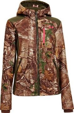 Perfect for hunting on those cold, damp mornings, the Women's Ayton Hoodie by Under Armour keeps you warm and dry. Polyester construction with Under Armour Storm durable water-repellent finish gives you both stealthy mobility and moisture protection. 400-wt. Sherpa fleece provides an amazingly soft feel and the thermal insulation you need to stay in the field longer.
