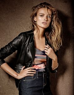 lucky brand campaign1 Edita Vilkeviciute is a Denim Babe for Lucky Brand Fall 2013 Ads