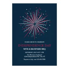 Fourth Of July Invitation Free Printable 4th Of July Free Online