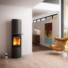 contemporary wood burning stoves 5kw - Google Search