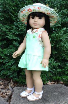 18 Inch Doll Clothing Farmer's Market Outfit by AuroraandLuna