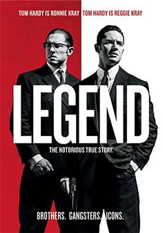 The true story of the rise and fall of London's most notorious gangsters, Reggie and Ron Kray, both portrayed by Tom Hardy in an amazing double performance. It is a classic crime thriller taking viewers into the secret history of the 1960s and the extraordinary events that secured the infamy of the Kray twins.