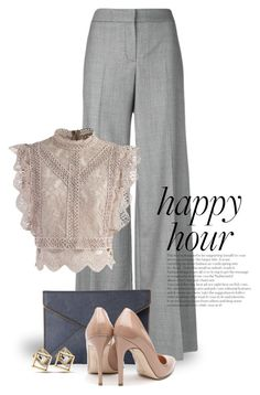 """""""Bottoms Up: Happy Hour 3880"""" by boxthoughts ❤ liked on Polyvore featuring Alexander McQueen, Chicwish, Rebecca Minkoff, Rupert Sanderson and happyhour"""