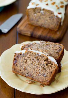 Celebrate National Date Nut Bread Day with Date Nut Bread Recipe ||| Red Salt Cuisine Restaurant